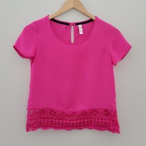 2 for $20 Xhilaration pink oversized blouse xsmall